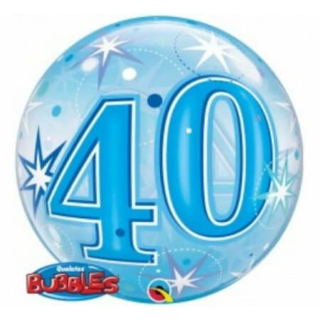 p 2 1 3 4 2134 Bubble Ballon 40 Blau