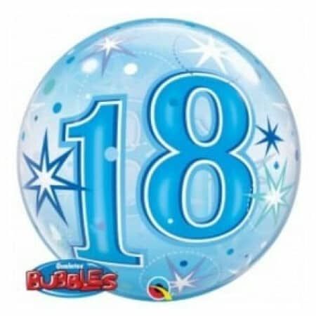 p 2 1 3 8 2138 Bubble Ballon 18 Blau
