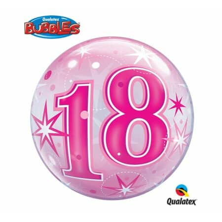 p 2 1 3 9 2139 Bubble Ballon 18 Pink