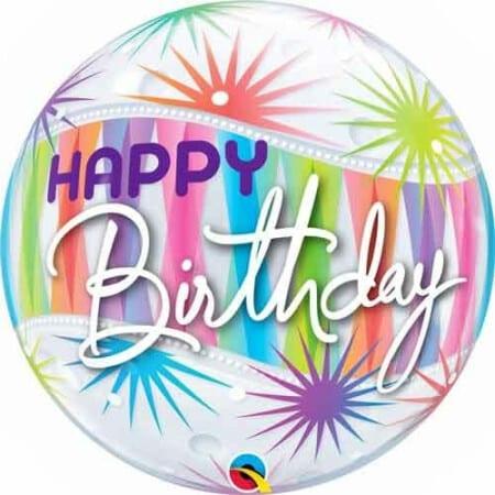 p 2 1 4 6 2146 Bubble Ballon Happy Birthday