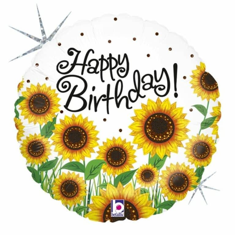 """Happy Birthday 18""""/cm"""