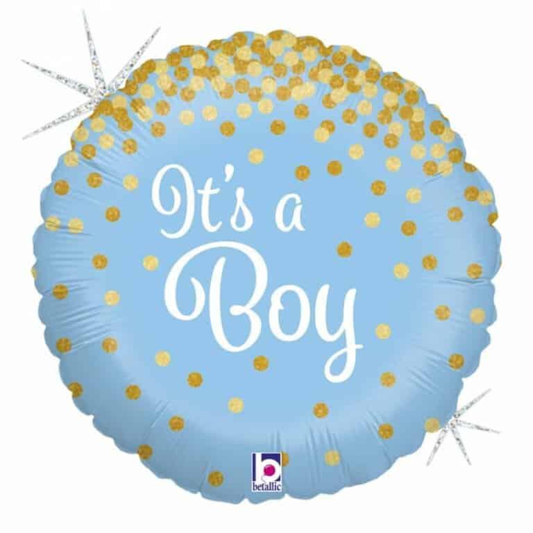 """Its a Boy 18""""/46cm"""