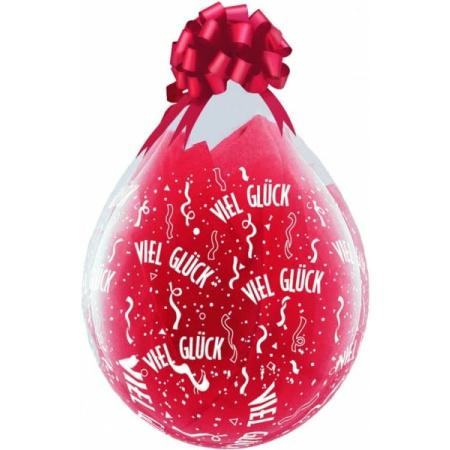 Verpackungsballon Viel Glück