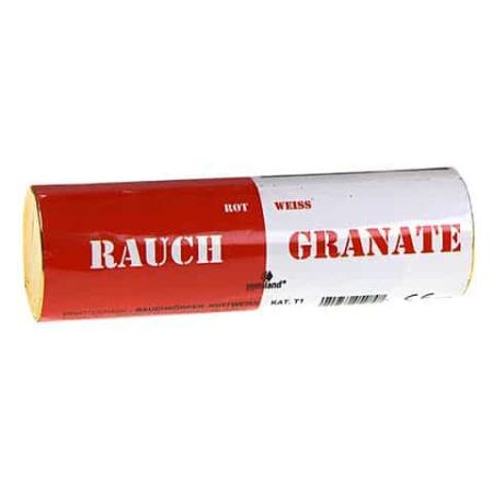 Rauchgranate Rot/Weiß 40 Sekunden