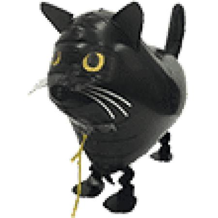Airwalker Katze Schwarz