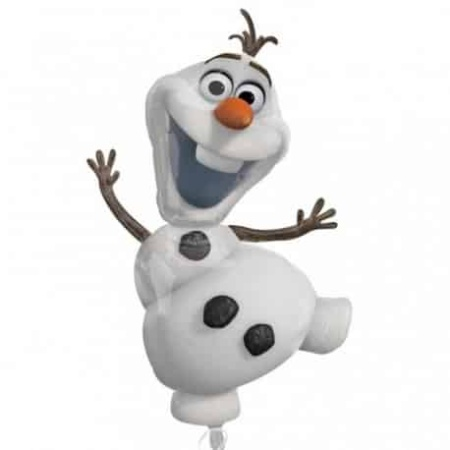 supershape frozen olaf foil balloon amscan 31950